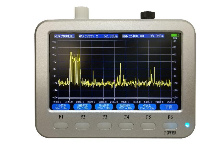 2.2 实时频谱图设置(上页)
