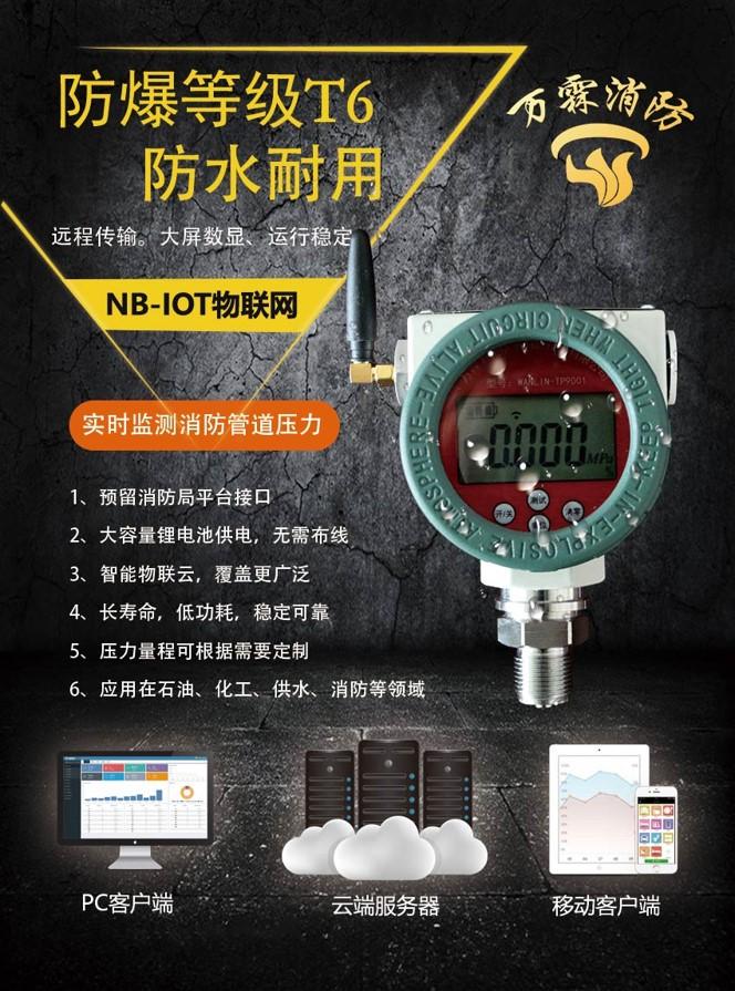 万霖WANLIN-TP9001系列防爆智能安全消防远传压力表