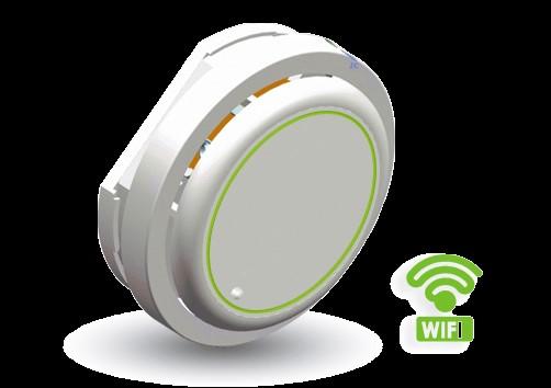 WIFI独立感烟探测器